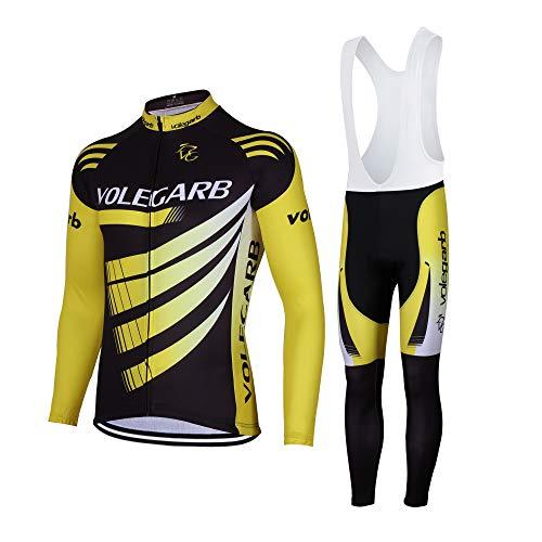 49e36de6fe3ac Feilaxleer Ropa Ciclismo Otoño Invierno Primavera para Hombre y Mujer - Ciclismo  Maillot MTB