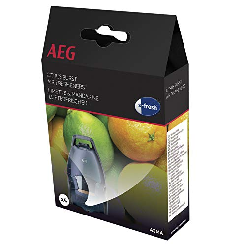 AEG 900167785 Lot de 4 Désodorisants pour Aspirateur