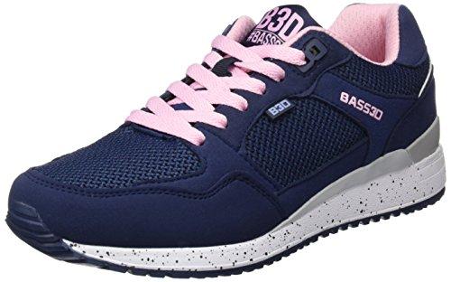 bass3d Damen 41307 Sneaker Blau