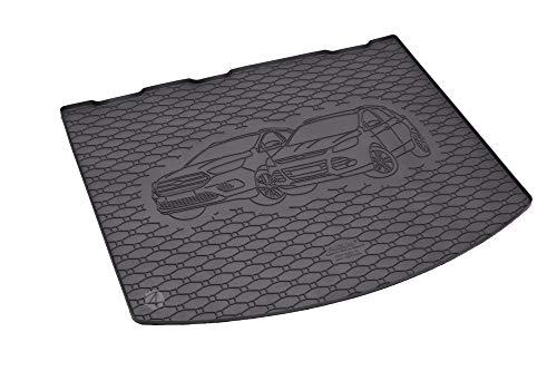 Passgenaue Kofferraumwanne geeignet für Ford Kuga ab 2013 - Ideal Angepasst