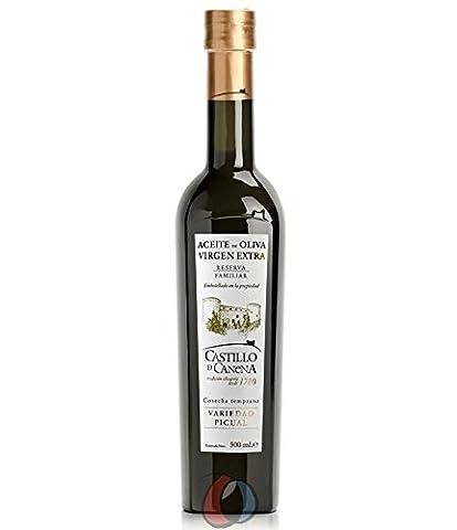 6 bouteilles de 500 ml - Canena de Castillo Réserve Familiale Picual - huile d'olive extra vierge par Oliva Oliva espagnol Internet