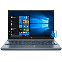"‏‪2020 Newest HP Pavilion 15"" FullHD Home + Business Laptop,15.6"" Touchscreen Laptop - Intel Core I7, 16GB RAM, 1TB Hard Drive 512GB SSD (BOOT) 4GB GeForce MX250 - Fog Blue Win 10‬‏"