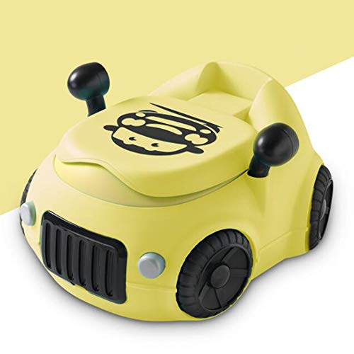 Toilettentrainer Kinder WC Toilette Lerntöpfchen Toilettensitz Kindertoilette Töpfchen Trainer,Yellow