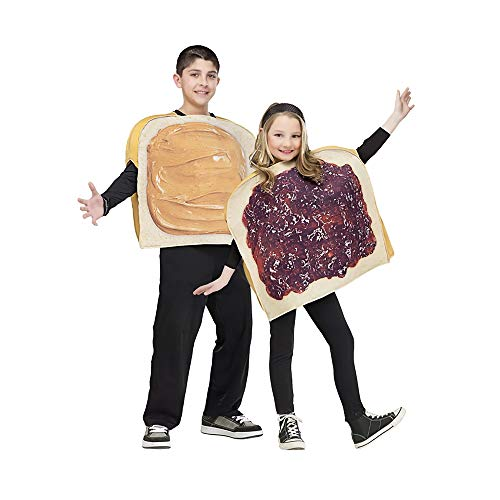Kids Peanut Butter 'N' Jam Costume Set