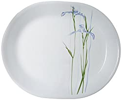 Corelle Asia Shadow Iris Oval Serving Platter (Big)