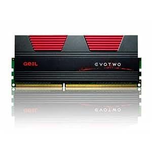 GeIL USA - GeIL Gaming EVO TWO Dual Channel Kit GET34GB2400C9DC - Memory - 4 GB : 2 x 2 GB