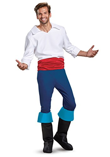 Prince Eric Deluxe Mens Fancy dress costume - Prinz Fancy Dress Kostüm