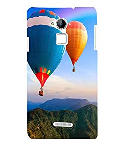printtech Hot Air Balloon Colored Back Case Cover for Coolpad Note 3 Lite Dual SIM with dual-SIM card slots