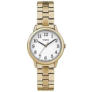Timex Reloj Análogo clásico para Mujer de Cuarzo con Correa en Acero