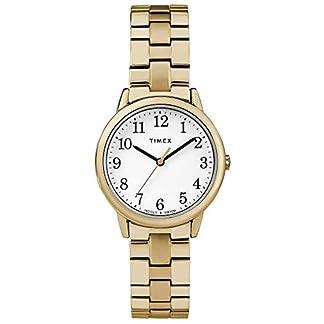 Timex Reloj Análogo clásico para Mujer de Cuarzo con Correa en Acero Inoxidable TW2R58900