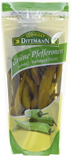 Feinkost Dittmann Pfefferonen scharf, 10er Pack (10 x 125 g)