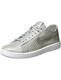 Nike W Tennis Classic Ultra PRM, Zapatillas de Deporte Para Mujer, Plateado (Metallic Silver/Mtllc Silver), 38 EU