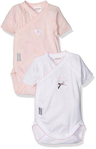 Absorba 2 CC MC Mademoiselle, Body para Bebés, Rosa (Eglantine 031), 0-6 Meses...