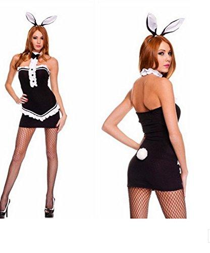 Sex PLAYSexy Rock Brautkleider In Übergrößen Uniformen Versuchungen Spiele Bunny (Playboy Bunny Kostüm Schwarz)