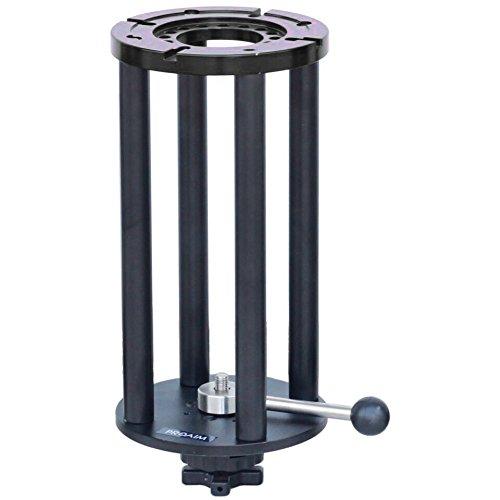 Proaim Mitchell 33cm Kamera Höhe Riser für Mitchell Dollies/Mitchell Base Mount Produkte | Schwere und Doch Leicht, Hochwertigem Aluminium Made-ermöglicht Mehrere Anordnungen (mr-291-02) Mitchell Base Adapter