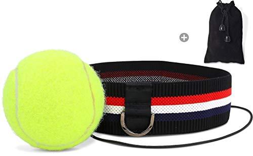 Kellago Profi Fight-Ball-Reflex mit Aufbewahrungsbeutel Kampfball mit Stirnband für Boxentraining Trainingsgerät für Leistungssteigerung im Boxen!