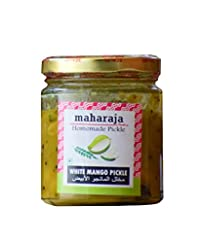 White Mango Pickle Homemade - Vella Manga Achar - natureloc