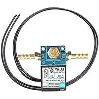 Magnetventil, breite kompatible kleine Aluminiumlegierung 3 Port DC 12V elektronische Boost Control Magnetventil Geeignet für ECU 3-Port PWM