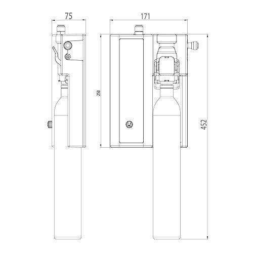 Sprudel aus dem Wasserhahn! Untertisch-Trinkwassersprudler BubbleBox inkl. 3-Wege-Armatur und Anschluss-Set. Macht das Leben einfach prickelnder! Bubble Box - 5
