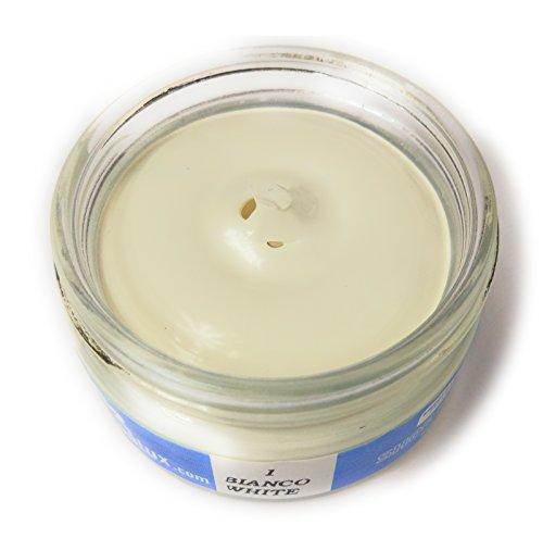 Crema coprente per pelle ripara graffi e segni (shoe cream)-001 bianco