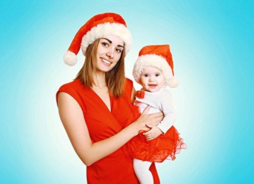 Weihnachtsmütze Nikolausmütze Mütze Weihnachten Nikolausmütze Santa Christmas Nikolaus Hund Mütze Groß - 4