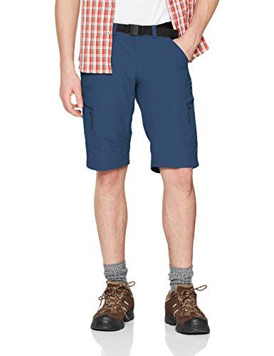 Schöffel Shorts Silvaplana2 Herren Hose, vielseitige Wanderhose mit separatem Gürtel, komfortable Outdoor Hose mit praktischen Taschen, blau,52