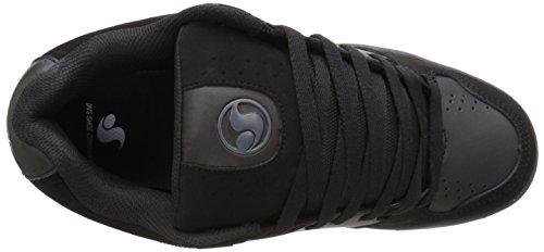 DVS Discord, Chaussures de skateboard homme Black Gray FV1