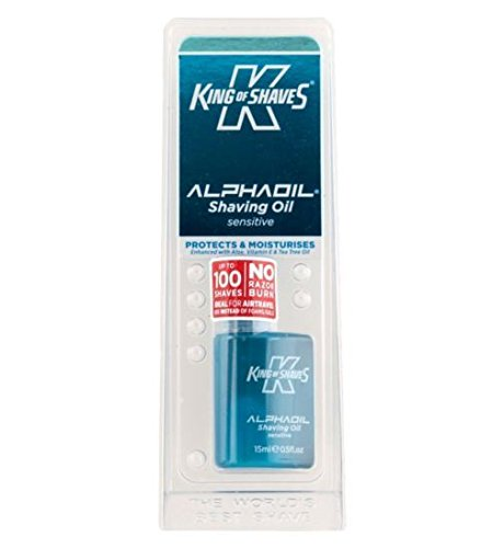 King of Shaves Sensitive Shave Oil 15ml