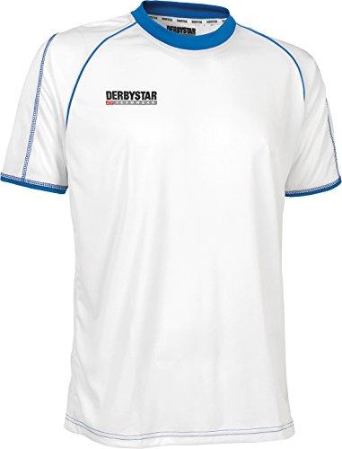 Derbystar Trikot Energy Kurzarm, 164, weiß blau, 6159164160