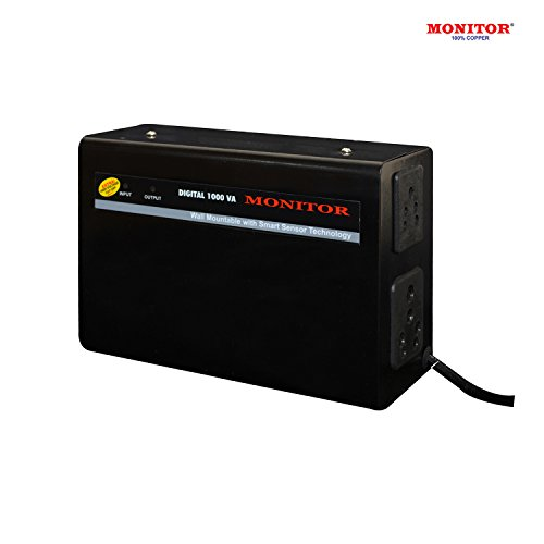 MONITOR Voltage Stabilizer for LED TV Upto 55 inch / 3 Amps With 5-Year Warranty