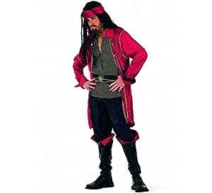 Limit Sport - Disfraz de pirata corsario Valorius, para adultos, talla XXL (EA010)