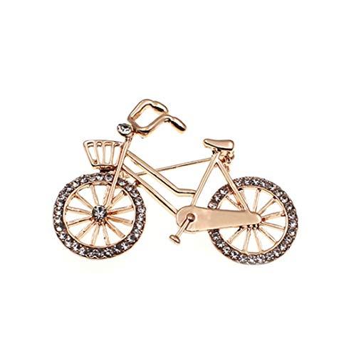 Nortongrace Attraktive Kleinrad Modell Broch Pins Cool Bike Broches für Frauen Dual - Verwenden Sie Scarf Buckle Kostüm Zubehör(None (Attraktive Kostüm)