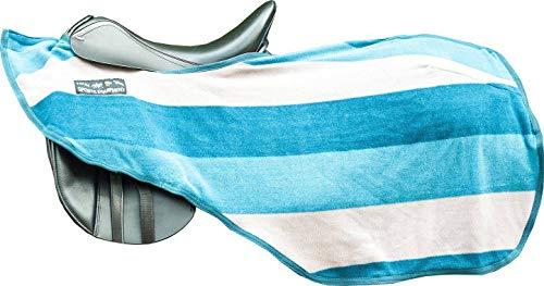 HKM 567532 Nieren Abschwitzdecke Colour stripes mit Klett, L