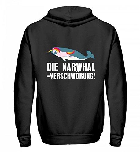 iger Zip-Hoodie - Die Narwhal Einhorn Verschwörung ()