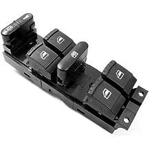 TOOGOO(R)Ventana Panel Maestro Interruptor conjunto de control para Volkswagen 99-04 Golf Jetta Bora 98-04 Passat B5 B5.5