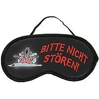 ULI STEIN Schlafmaske - Schlafbrille - Bitte nicht stören! Gääähn Leichte Augenmaske mit verstellbarem Gummiband... preisvergleich bei billige-tabletten.eu