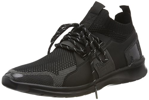 Boss Green Extreme runn knit Sneaker A Collo Alto Uomo Nero black