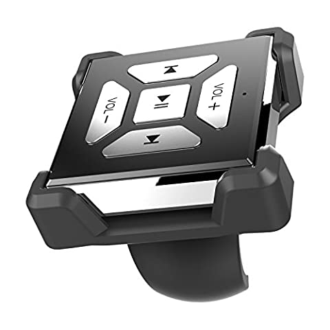 Eximtrade Auto Lenkrad Fahrrad Lenker Bluetooth Multimedia Fernbedienung für iOS Android
