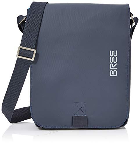 BREE Punch 52, blue, shoulder bag S 83251052 Unisex-Erwachsene Schultertaschen 28x22x6 cm (B x H x T), Blau (blue 251)