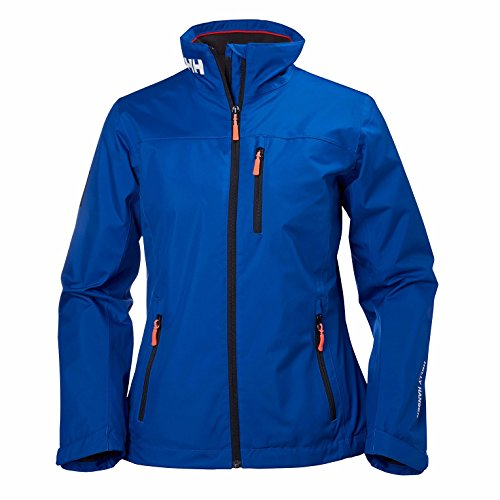 Helly Hansen - Giacca Crew midlayer cappotto, donna, Crew Midlayer, Olympian Blue,