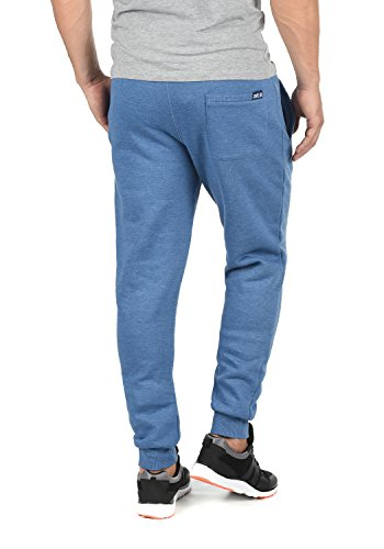 SOLID Benn Herren Jogginghose Sweatpants Sporthose mit kuscheliger Fleece-Innenseite aus hochwertiger Baumwollmischung Meliert Faded Blue Melange (1542M)