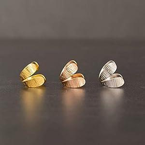 Rose Gold Ohr Manschette keine piercing, Silber earcuff nicht durchbohrt, Ohr Manschette Ohrringe minimalistischen ear cuff, Silber Ohr wickeln Ohrring, Ohrfessel Ohrring