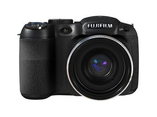 Fujifilm Finepix S1800 Digitalkamera (12 Megapixel, 18-fach opt.Zoom, 7,6 cm Display, Bildstabilisator) schwarz - 2