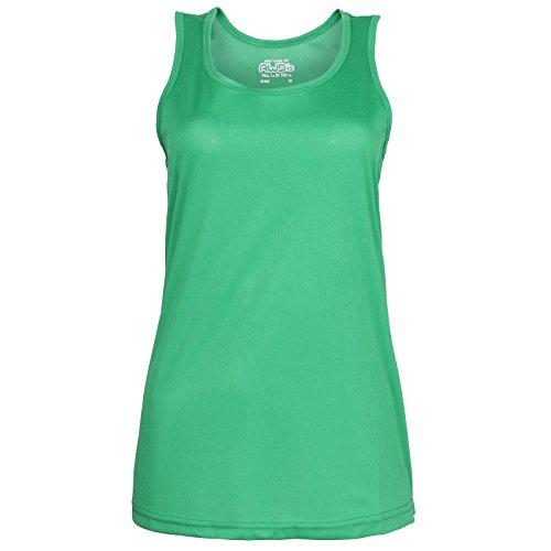JC015 Girlie Cool Vest Top Tank-Top, Farbe:KELLY GREEN;Größen:XS