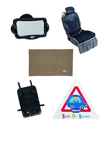 Chicco Kit de viaje - Kit imprescindible para los viajes en coche