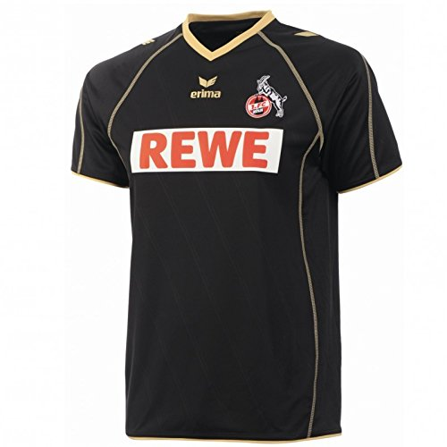Erima Kinder Trikot 1. FC Köln Away 2 Jersey, black/gold, 164, 151302
