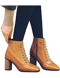 795da178d5e2 Amazon.es: Charol - Cremallera / Zapatos: Zapatos y complementos
