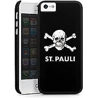 Apple iPhone SE Hülle Premium Case Cover FC St. Pauli Fanartikel Fussball