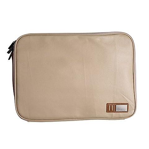 Laptop Tasche Schutzhülle pro 13,3 Zoll Handtasche schwarz\Khaki, 13,3 Zoll, khaki