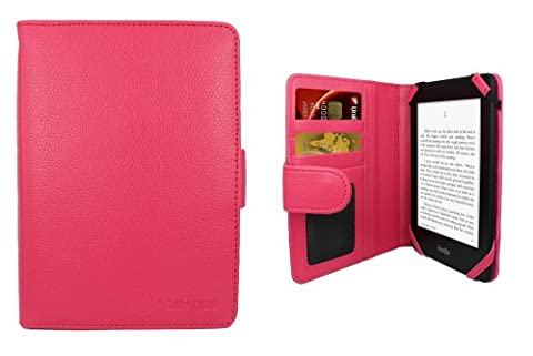 Aquarius Hot Pink Executive PU Leather Pad Protective Case Cover